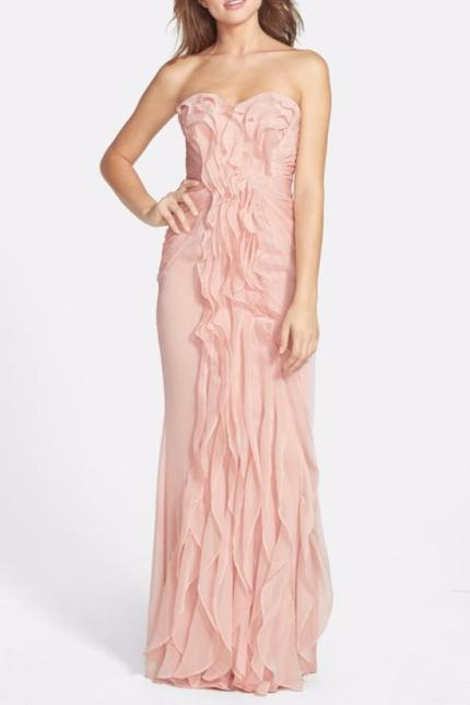pastel dress pink