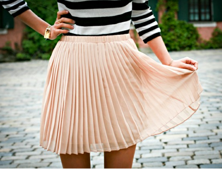 pleats outfit
