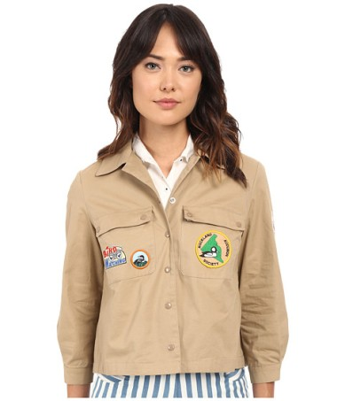 Alfie Jacket with Patches